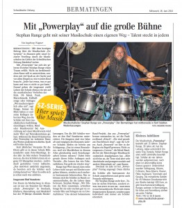 Musikschule-Powerplay Artikel