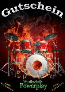 Gutschein Schlagzeug Unterricht